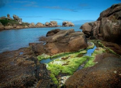gites in Brittany near the rose granite coast