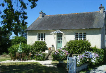 2 bedroom holiday cottage to rent in Brittany